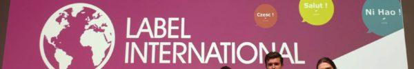 Cérémonie du label international